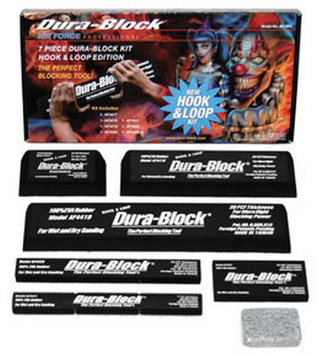 Dura-Block AF44HL 7PC Hook and Loop Block set with Soap