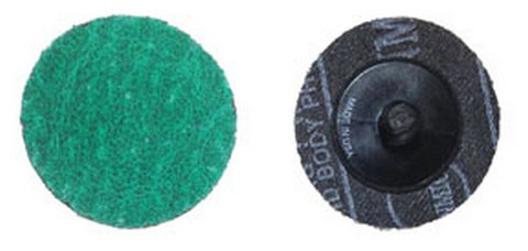 "ATD Tools 89324 3"" 24 Grit Green Zirconia Mini Grinding Disc"