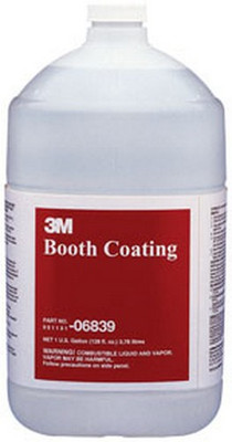 3M 6839 Booth Coating 06839, 1 Gallon