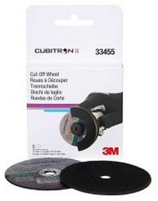 "3M 33455 3"" X .0625"" X 3/8"" Cubitron™ II Cut-Off Wheel"