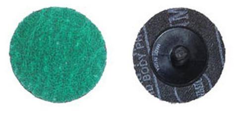 """ATD Tools 89224 2""""-24 Grit Green Zirconia Mini Grinding Discs"""