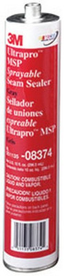 3M 8374 Ultrapro™ MSP Sprayable Seam Sealer 08374 Gray, 10.5 fl oz Cartridge