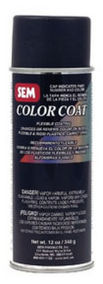 SEM Paints 15103 Color Coat- Super White, 16oz Aerosol Can