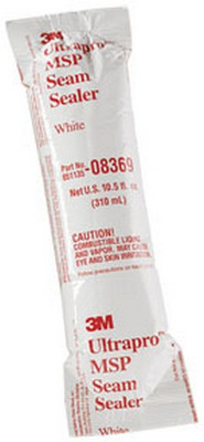 3M 8369 Ultrapro™ MSP Seam Sealer, White, 310 mL Flexpack