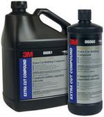 3M 6061 Perfect-It™ 3000 Extra Cut Rubbing Compound 06061, 1 Gallon3.78 L