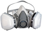3M 7178 Dual Cartridge Respirator Packout 07178, Organic Vapor/P95, Medium