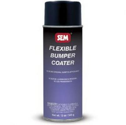 SEM Paints 39293 Bumper Coater-Honda Black, 16oz Aerosol Can