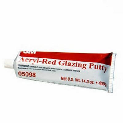 3M 5098 3M™ Acryl-Red Glazing Putt, 14.5 oz tube