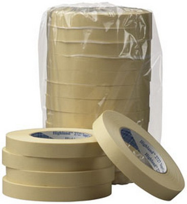 3M 6543CS Highland™ Masking Tape 2727, 48 mm x 55 m