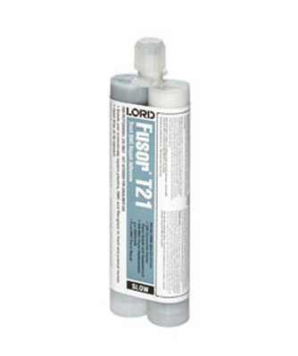 Lord Fusor T21 Truck Plastic Structural/Cosmetic Adhesive (Medium-Set), 10.1 oz.