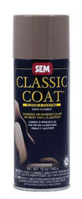 SEM Paints 17093 Classic Coat Black, 16oz Aerosol Can