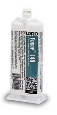 Lord Fusor 140 Clear Plastic Structural Installation Adhesive (Fast-Set), 1.7 oz.