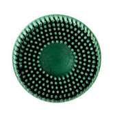 "3M 7524 Scotch-Brite™ Roloc™ Bristle Disc 07524 Green, 2"", Coarse, 10 discs/bx"