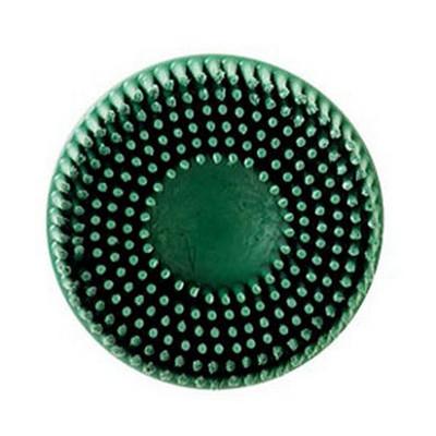 """3M 7524 Scotch-Brite™ Roloc™ Bristle Disc 07524 Green, 2"""", Coarse, 10 discs/bx"""