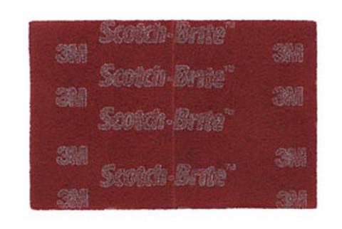 3M 64926 Scotch-Brite PRO Hand Pads, Very Fine grade, 6 in x 9 in