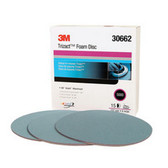 3M 30662 3M™ Hookit™ Trizact™ Foam Disc, 6 in, 5000, 15 discs per box