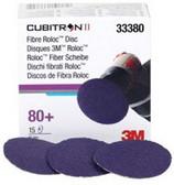 """3M 33380 2"""" Cubitron™ II Fibre Roloc™ 80+ Grade Disc"""