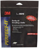 "3M 6016 Perfect-It™ Detailing Cloths 06016, 12"" x 14"", 6 Cloths/Pack"