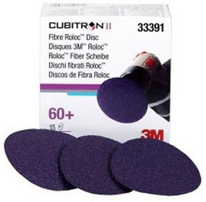 """3M 33391 3"""" Cubitron™ II Fibre Roloc™ 60+ Grade Disc"""