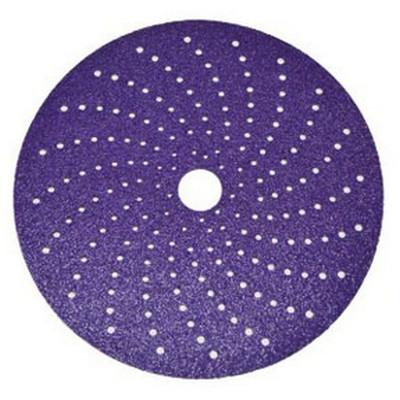 3M 31371 Cubitron II Clean Sanding Hookit Abrasive Disc, 6 inch, 80+ grade