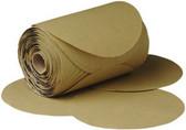 "3M 1439 6"" Stikit™ Gold P180 Grade Sanding Discs- 175 Disc Roll"