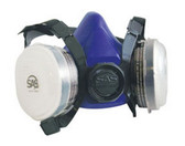 SAS Safety 8661-93 Bandit Halfmask Respirator, OV Cartridge with N95 Filter - Large