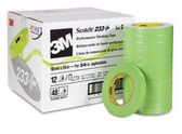 "3M 26334CS 3/4"" Scotch® Premium Automotive 233+ Masking Tape"
