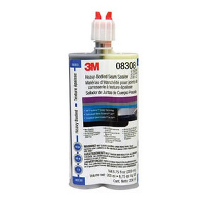 3M 8308 Automix™ Heavy-Bodied Seam Sealer 08308, 200 mL Cartridge, 6/cs