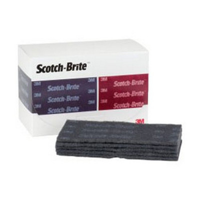 """3M 64660 Scotch-Brite™ Durable Flex Hand Pad, 4 1/2"""" x 9"""", Ultra Fine"""
