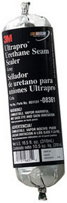 3M 8361 Ultrapro™ Urethane Seam Sealer 08361 Gray, 310 mL Foil Pack