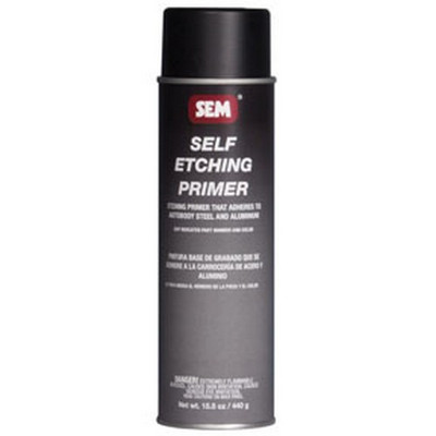 SEM Paints 39673 Self Etching Primer- Black, 20oz Aerosol Can