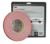 "3M 6382 Automotive Acrylic Plus Attachment Tape 06382, Black, 1/2"" X 20 Yds, 45 mil"