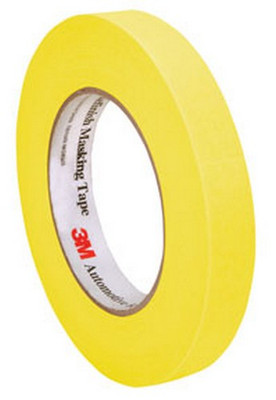 3M 6652 Automotive Refinish Masking Tape, 18 mm x 55 m
