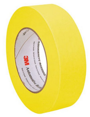 3M 6654 Automotive Refinish Masking Tape, 36 mm x 55 m