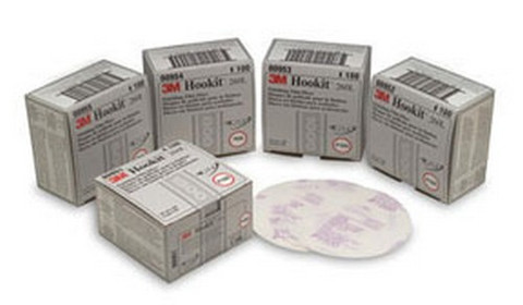 3M 975 Hookit™ Gold Disc 00975, 6 inch, P320A, 100 discs/bx