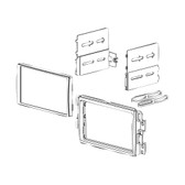 American International GMK318 2006-2014 General Motors And Select Imports Double Din Dash Kit