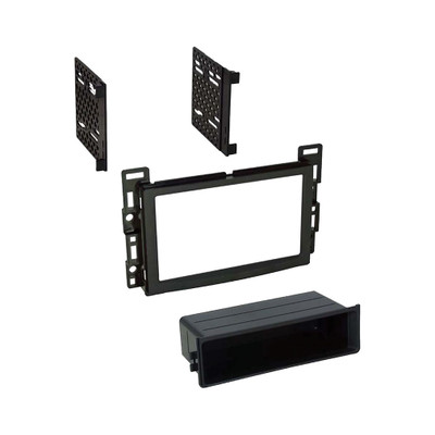 American International GMK351 2004-12 Gm Single Iso With Pocket Or Double Din Install Kit