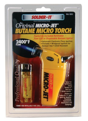 Solder It MJ300 Micro-Jet Auto Ignite Torch