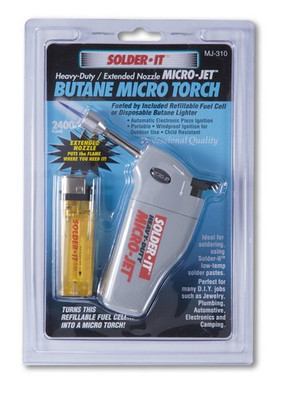 Solder It MJ310 Micro-Jet Torch with Extended Flame