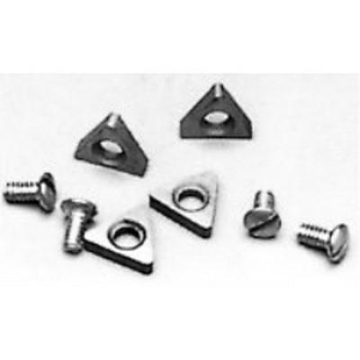 Ammco 940410 FMC/John Bean/ Barrett Style Positive Rake Carbide Bits (10 Pack)