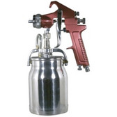 Astro Pneumatic 4008 Gun 1.8mm Siphon Feed Primer with 1 Qt. Aluminum Cup