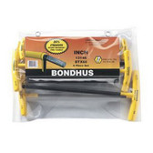 "Bondhus 13146 6pc Set Balldriver T-Handles 5/32-3/8"""