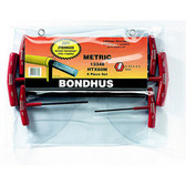 Bondhus 13348 6pc Set Graduated T-Handles 2-6mm