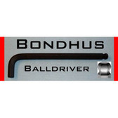 Bondhus 15750 1.5mm Balldriver L-Wrench
