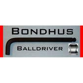 Bondhus 15754 2.5mm Balldriver L-Wrench