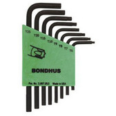 Bondhus 31732 8pc Set Star L-Wr S Arm -T6-T2