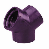 """Crushproof RY25 Y Connector for 2 1/2"""" Hose"""