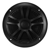 "Boss Audio MR6B Marine Black 6.5"" Dual Cone (Pair) 180 Watts"