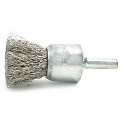 "Brush Research BNS606 3/4"" Solid Wire End Brush, .006"