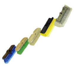 "Carrand 93111 Heavy Duty Wash Brush Head Only, 10"" Wide All Side, Use with Flow Through or Dip Handle"